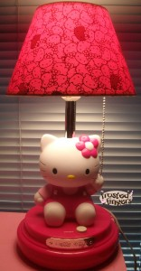 hello kitty lamp review frosted fingers baking. Black Bedroom Furniture Sets. Home Design Ideas
