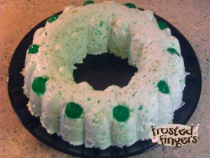 St Patrick's Day, Treats, jello, green