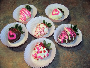 Valentine's Day Chocolate Strawberries
