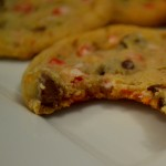 Peppermint Chocolate Chip Cookies #Recipe
