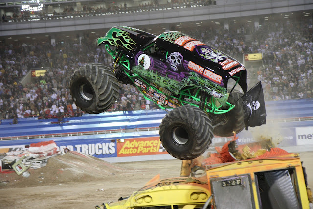 Monster Jam, Chicago, Giveaway, Advanced Auto Parts