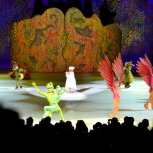 Disney on Ice, Dare to Dream, Rapunzel, Tiana, Cinderella, Disney Princesses, Princess, Ice Skating, Chicago, United Center, Allstate Arena, Feld, Review