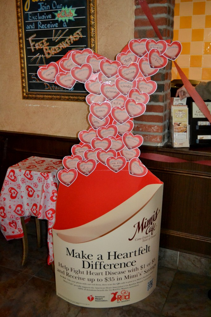 Mimi's Cafe, heart research, American Heart Association