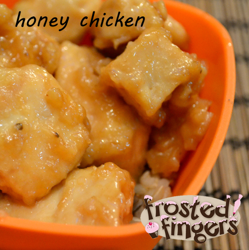 honey glazed chicken, recipe