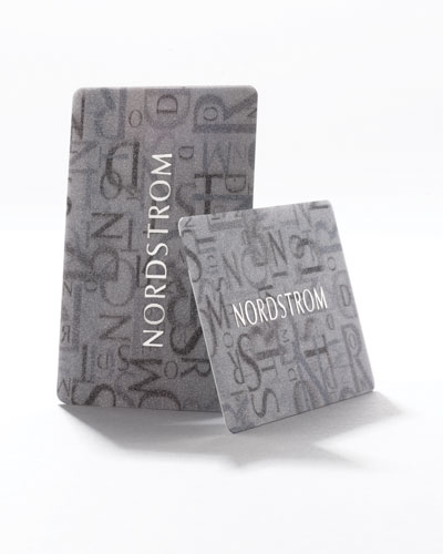 Nordstrom Wedding Gift Card : Nordstroms Gift Card