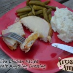 Malibu Chicken #Recipe #AnythingDressing #Cbias