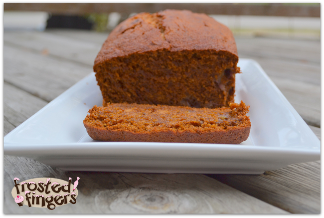 Banana Bread Recipe made with NuNaturals