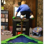 iBounce Children's Trampoline #Review and #Giveaway