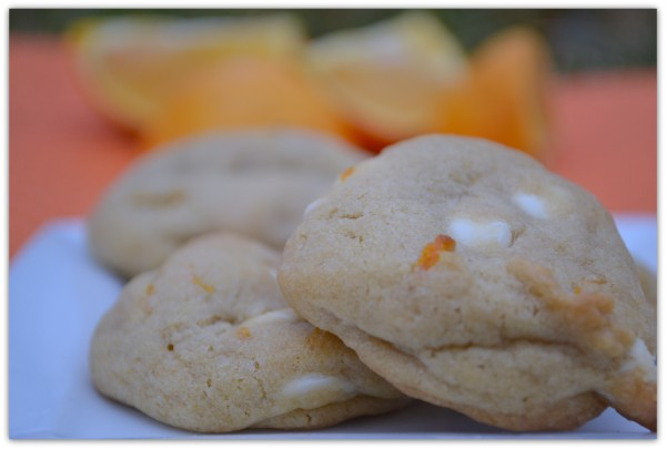 Orange Creamscicle Cookies