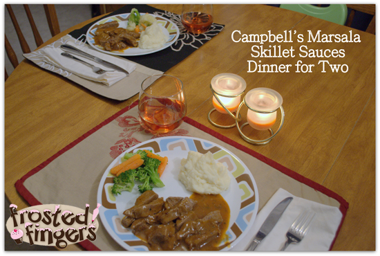 Campbells Skillet Sauces Dinner for Two