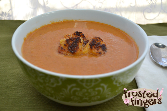 Brown Sugar-Roasted Tomato Soup With Cheddar Croutons Recipes ...