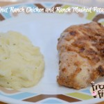 Walnut Crusted Ranch Chicken Breasts and Ranch Mashed Potatoes #Recipe #RanchRemix
