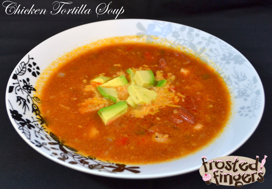 Chicken Tortilla Soup #AmazingAvoCinco