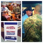 Outback Operation Homefront lunch with Tim McGraw