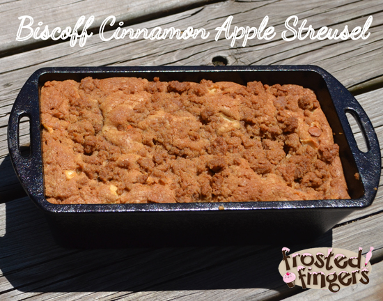 Biscoff Cinnamon Apple Streusel