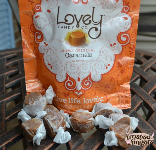Lovely Candy Chewy Caramels