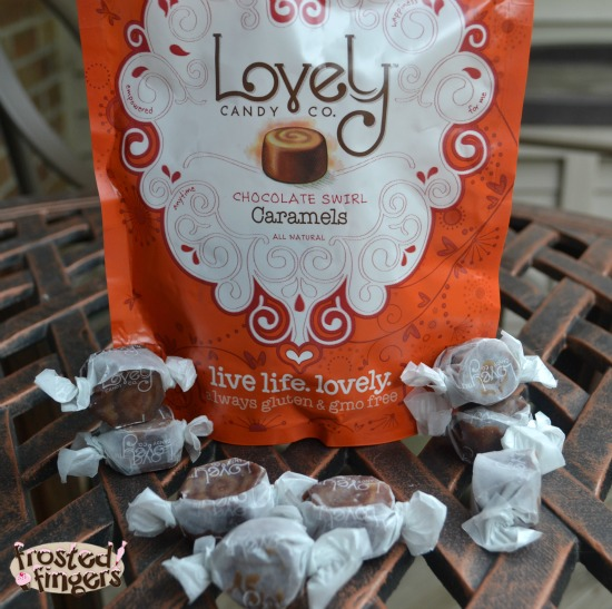 Lovely Candy Chocolate Swirl Caramels