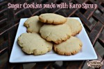 Sugar Cookies made with Karo Syrup