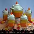 Starburst Candy Corm Cheesecake Mousse
