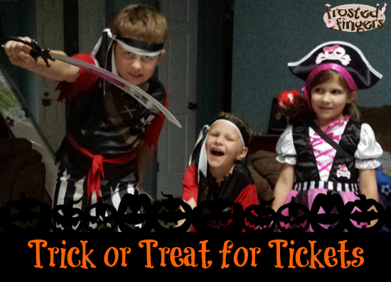 Trick or Treat for Ringling Tickets