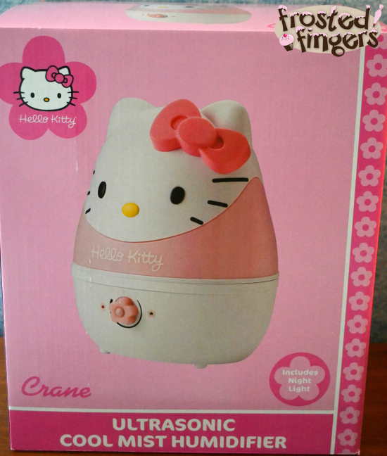 Crane Hello Kitty Cool Mist Humidifier Review And Giveaway