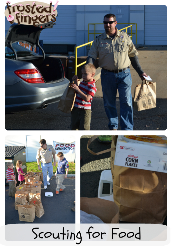#CubScouts Scouting for Food