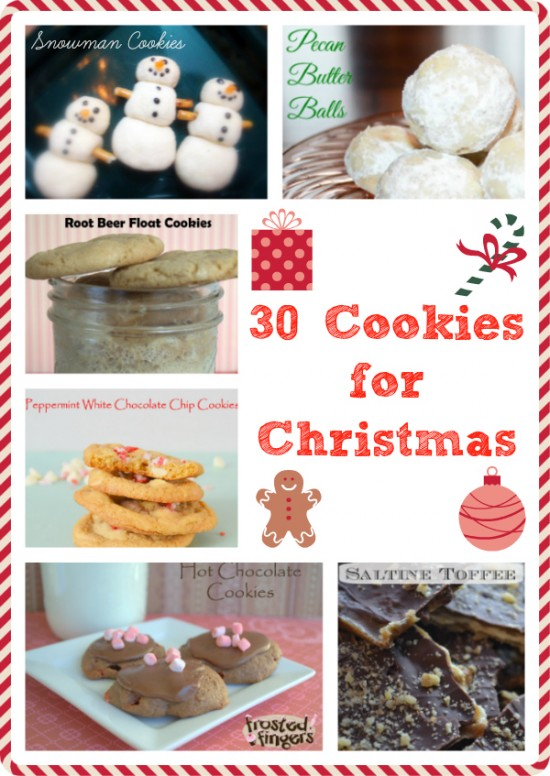 30 Cookies for Christmas