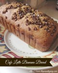 Kids in the Kitchen: Cafe Latte Banana Bread
