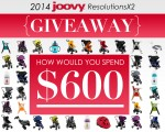 Win $600 to Spend at Joovy.com!! #Joovy2014ResolutionsX2