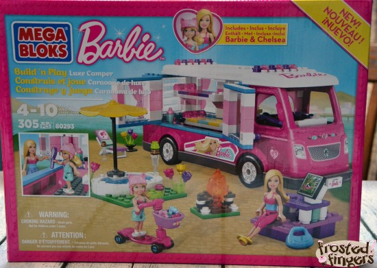 Mega Bloks Barbie™ Build 'n Play Luxe Camper