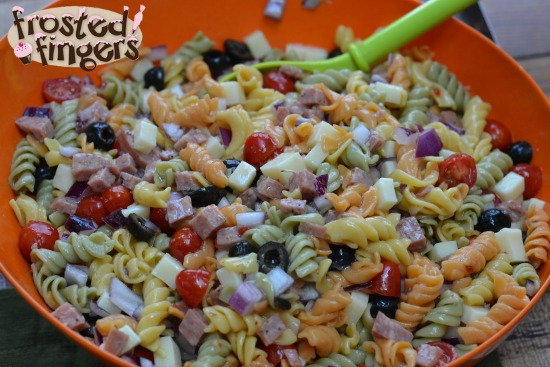 pasta salad this recipe for italian pasta italian deli pasta salad ...