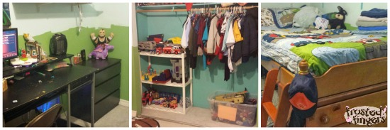 #40BagsIn40Days Challenge Boys Room After