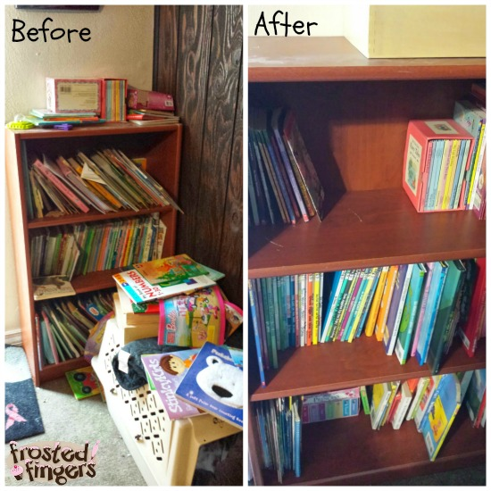 #40BagsIn40Days Kids Book Shelves
