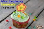 Blue Raspberry Lemonade Cupcakes Recipe