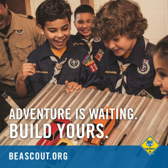 Build an Adventure with Cub Scouts