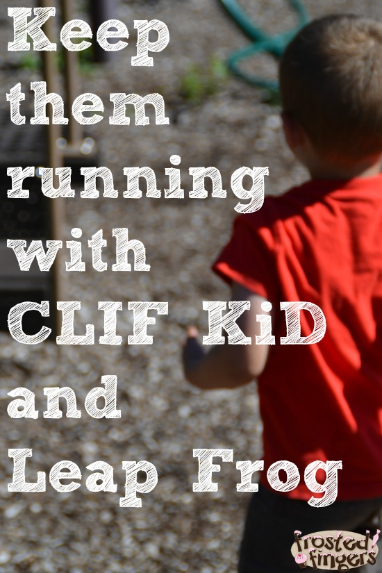 Keep Active with CLIF Kid and Leap Frog #FitMadeFun