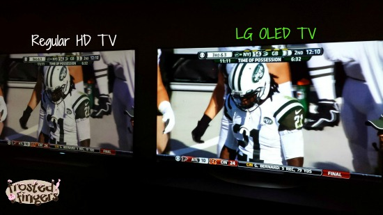 HD vs LG OLED TV