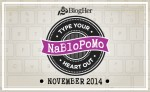 National Blog Posting Month #NaBloPoMo