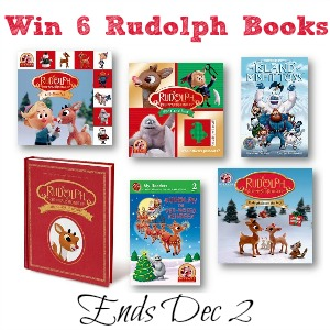 Rudolph Giveaway #Rudolph50