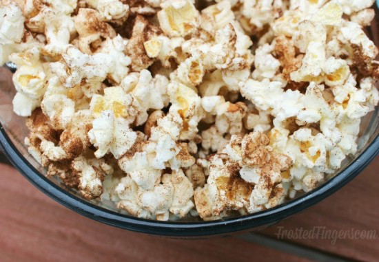 Cinammon Sugar Popcorn