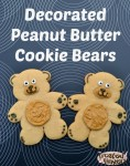 Decorated Peanut Butter Cookie Recipe