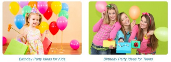 Birthday Party Ideas at BirthdayMakers
