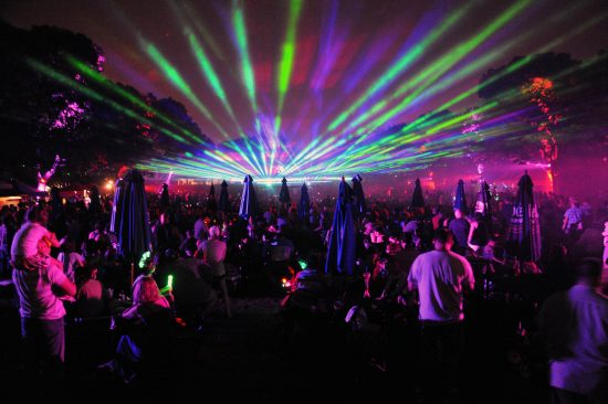 A spectacular laser light and video show to tops off each evening of Brookfield Zoo's Summer Nights.