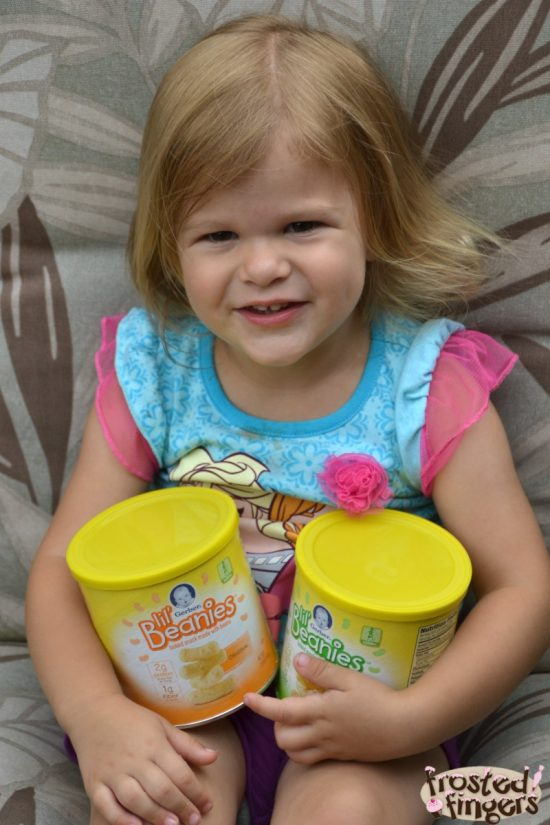 Get your toddler to snack with Gerber Lil' Beanies