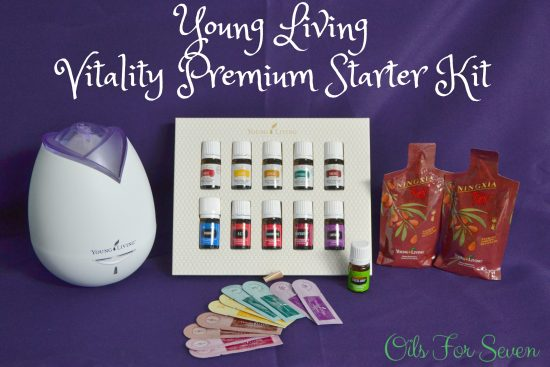 How to use your Vitality Premium Starter Kit from Young Living for Back to School.
