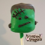 Frankenstein Marshmallows #halloween