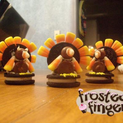 Oreo Turkey #Thanksgiving