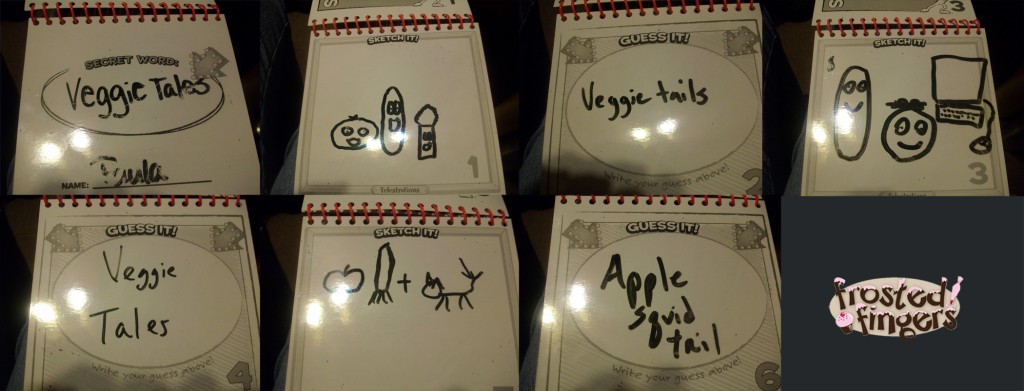 telestrations review and giveaway frosted fingers