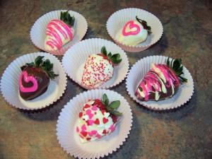 Valentine's Day Chocolate Strawberries