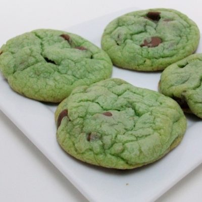 St Patrick's Day Blarney Stone Cookies